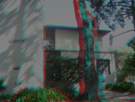 Science Building Anaglyph by frostdemn