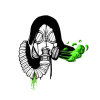 Gasmask Tattoo by Torvald2000