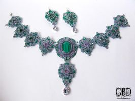 Emerald lace 1 by gbdreams