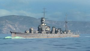 WoWS: IJN Furutaka by A3DR