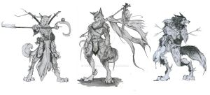 Initial Sketches - Concept by TheMushman