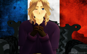France MMD Model Edit by annalrk