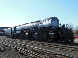 Union Pacific Big Boy 4012 in Steamtown by rlkitterman