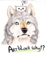 Artblock why?? by Crazywolfs