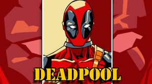 Deadpool Pop Art Wallpaper by iamherecozidraw