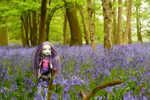 Spectra amongst the bluebells by astrogoth13