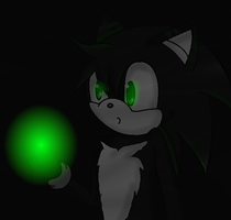 !~{ A wolf and his green light}~! by xlightbluesnowflakex