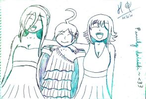 Lily, Miki, Gumi by Bionicle31