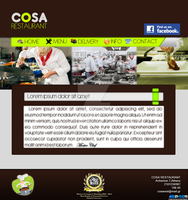 Cosa Restaurant Web Site by panos46