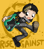 Joe - Rise Against by amy-art