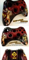 Borderlands Krieg the Psycho Xbox Controller by Edge-Works