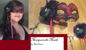Modified Masquerade Mask by stardove3