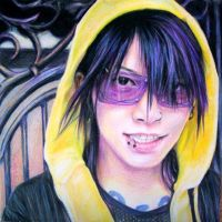 Violet Glasses+Yellow Hoods by ephemeralciel