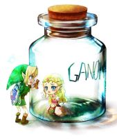 OoT - Bottled Princess by Miyukiko