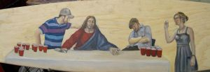 Longboard: The last supper by lisserkisses