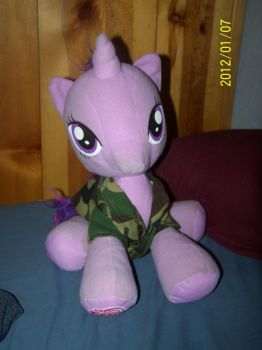 My Little Twilight Plushie LIKE A BOSS! 4 by coonk9