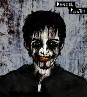 Self Portrait v3: A Crooked Smile by NightmareKing666