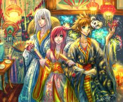 Kingdom Hearts Festival--OLD by emilynguyenart