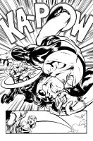 Slate vs. Invincible by Cinar