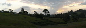 Sunset: first panorama attempt by chaucolai