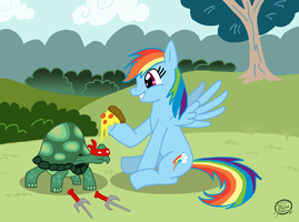 Dashie's Hero-in-a-Half-Shell by UncleScooter