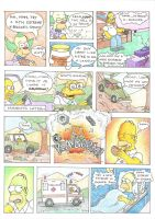 My Simpsons Comic Strip by J-Rayner