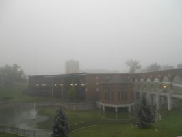 Foggy Campus 2 by unusedusername111