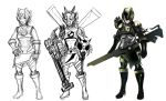 Megaman Insect Warrior armor type by prime512
