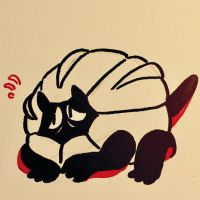 10.10.16 Shelgon is loafing around