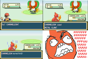 Charmeleon's Rage by AtomicNeurosis