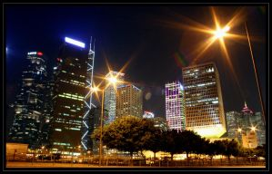 Financial District II by AndrewToPhotography