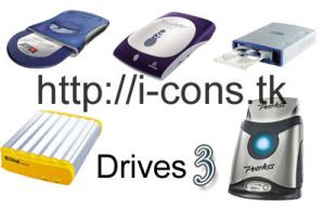 Drives Icons 3 by mmr85