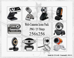 Web-Cameras Icons Pack by conzumir