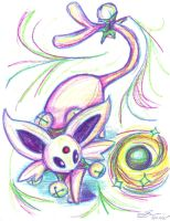 Espeon's Circus Act by Sinister-Sweet