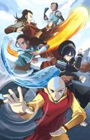 Avatar Last Airbender - All Grown Up by suzuran