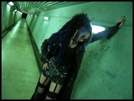 Tunnel + Goth by reed-richards