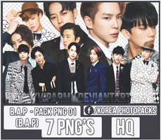 Pack png render:  B.A.P  TS Ent #01 by VipArmy