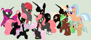 Meet the internet family by PyscoSnowflake