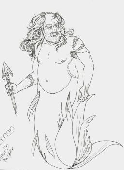 Merman by mylovelyghost