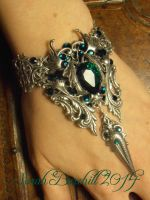 Emerald Dreams - Bracelet by fairyfrog