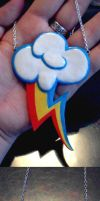 Cutie mark of Rainbow Dash by Charly-chan