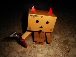 Danbo: Shout at the Devil by eivven