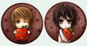 Button set 7 - Death Note by Radittz