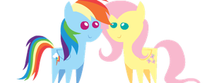 Flutter Nuzzle (GIF Version) by MartyMurray