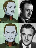 David Niven Talan by Rheinhard
