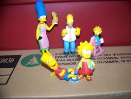 My Simpsons Figurines by jhwink
