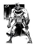 Dark Knight, Loose and Dirty by Inkpulp
