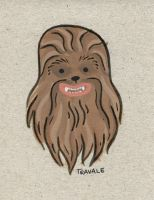 Sidekick 04 Chewbacca by TRAVALE