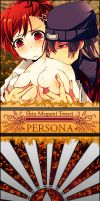 Persona 3 bookmark V by DeviantSith
