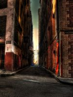 Alley HDR by youwha